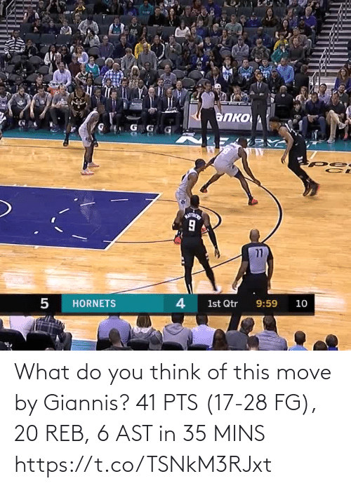 move: What do you think of this move by Giannis?   41 PTS (17-28 FG), 20 REB, 6 AST in 35 MINS https://t.co/TSNkM3RJxt