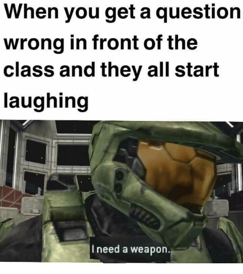 In Front Of The Class