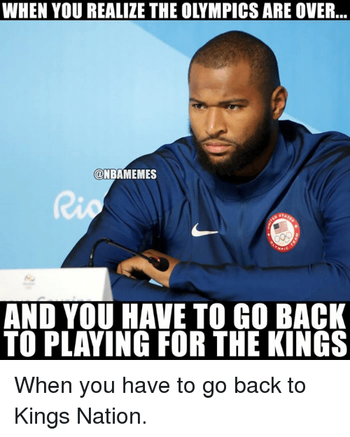 You Have To Go Back