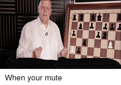 Mute, Dank Memes, and When