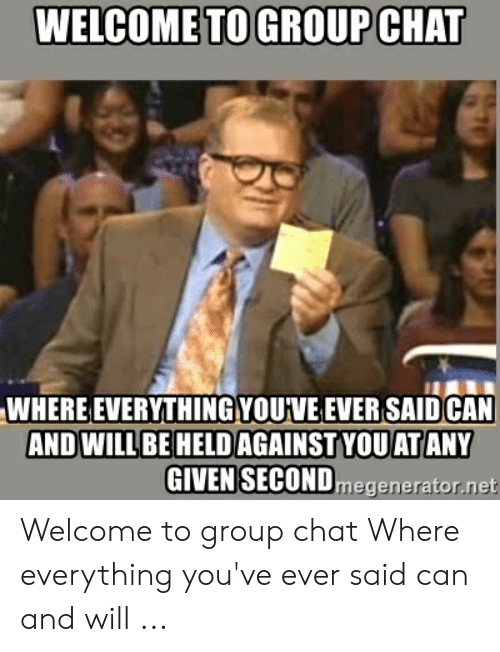 🐣 25+ Best Memes About Welcome to the Group Meme | Welcome