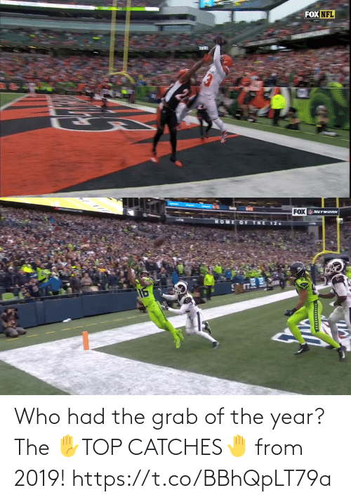 year: Who had the grab of the year?   The ✋TOP CATCHES🤚  from 2019! https://t.co/BBhQpLT79a