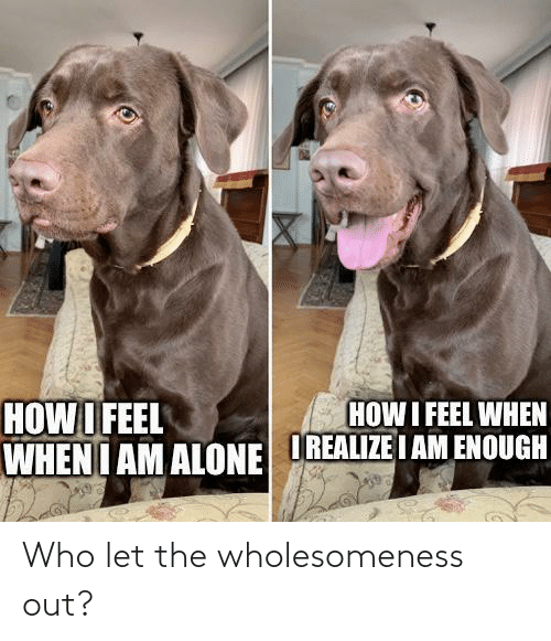 Let: Who let the wholesomeness out?