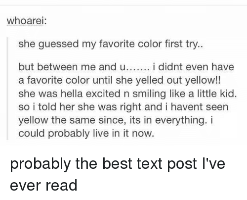 text post