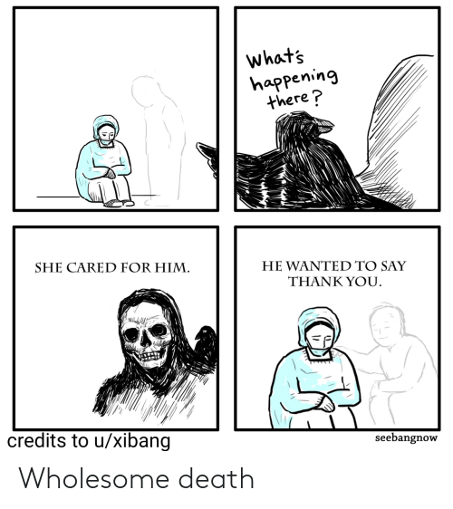 Wholesome: Wholesome death