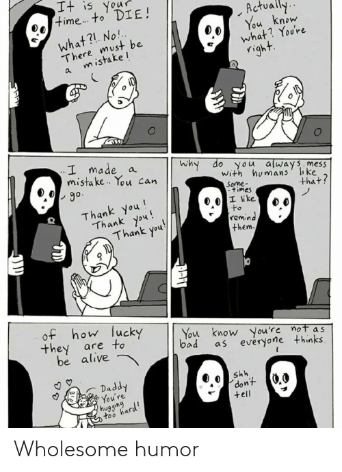 Wholesome: Wholesome humor