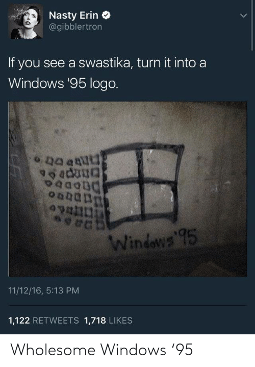 Windows and Wholesome: Wholesome Windows '95