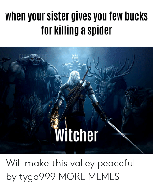 make: Will make this valley peaceful by tyga999 MORE MEMES