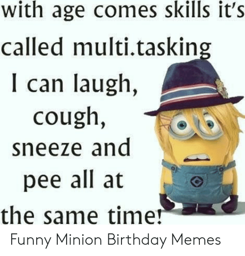 25+ Best Memes About Happy Birthday Minion Meme | Happy ...