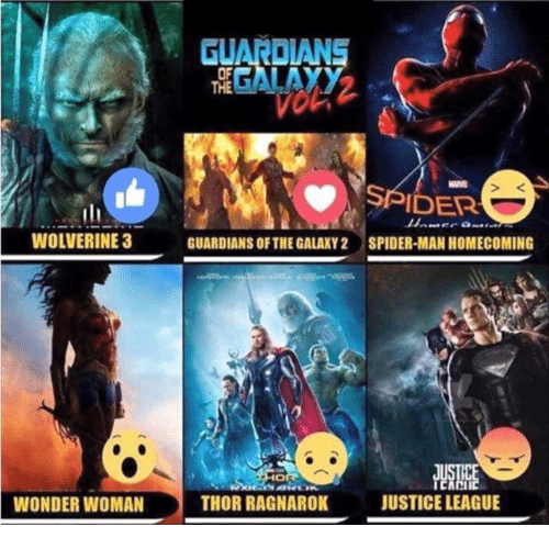 wolverine 3: WOLVERINE 3  WONDER WOMAN  THE  SPIDER  GUARDIANS OF THEGALAXY2 SPIDER-MAN HOMECOMING  JUSTICE LEAGUE  THOR RAGNAROK