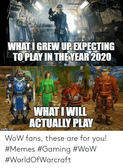 Gaming: WoW fans, these are for you! #Memes #Gaming #WoW #WorldOfWarcraft