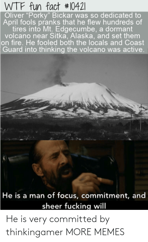 """on fire: WTF fun fact #10421
