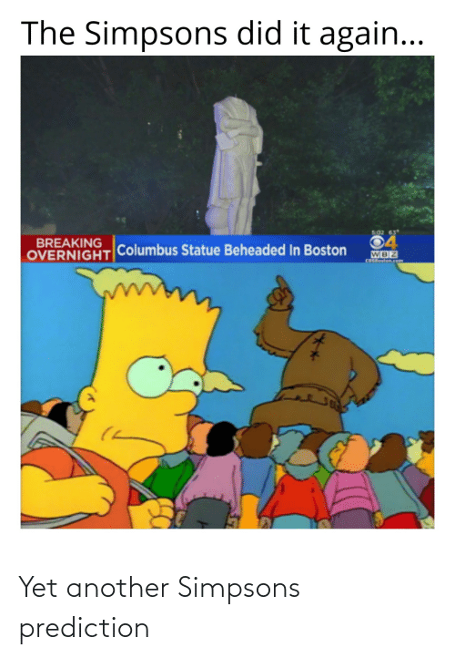 another: Yet another Simpsons prediction