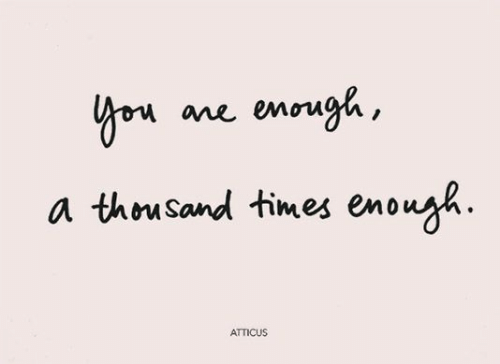 Times, Atticus, and Enough: Yon ane enough,  a thousand times enough  ATTICUS