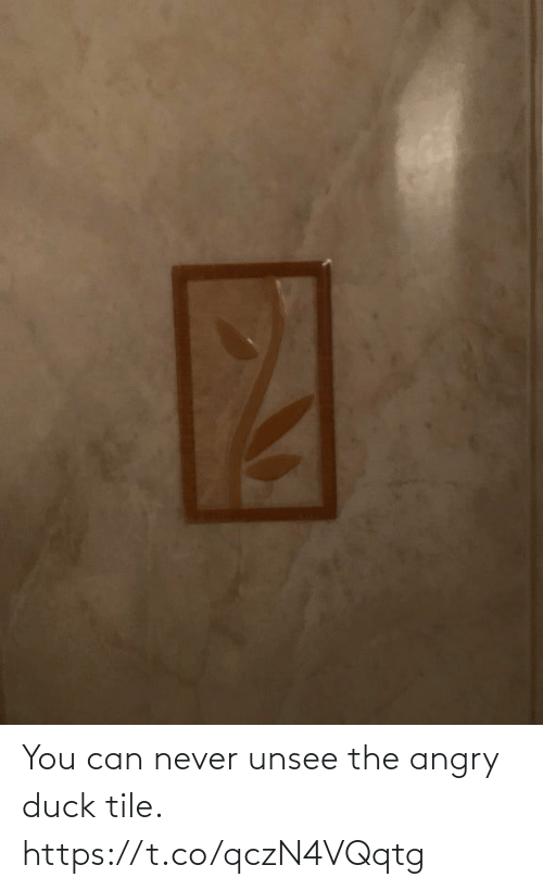 Angry: You can never unsee the angry duck tile. https://t.co/qczN4VQqtg