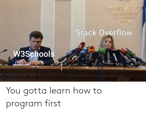 how: You gotta learn how to program first