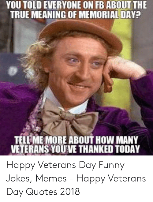 🐣 25+ Best Memes About Veterans Day Funny | Veterans Day