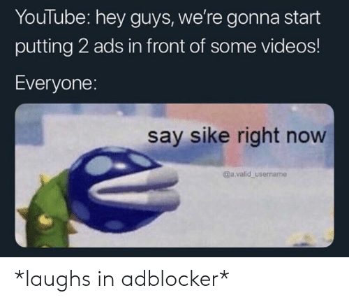 YouTube Hey Guys We're Gonna Start Putting 2 Ads in Front of