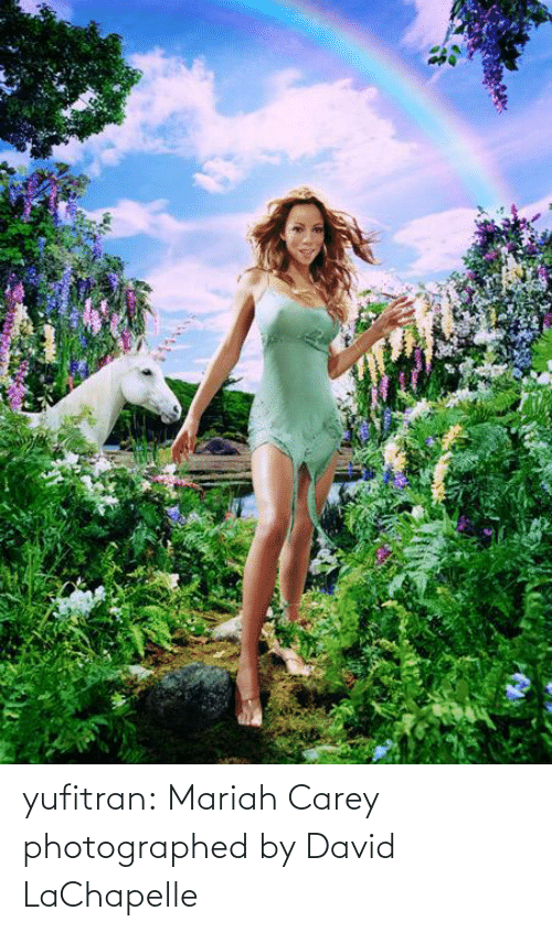 mariah carey: yufitran:  Mariah Carey photographed by David LaChapelle