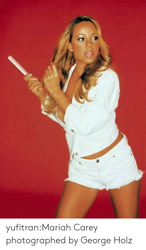 mariah carey: yufitran:Mariah Carey photographed by George Holz