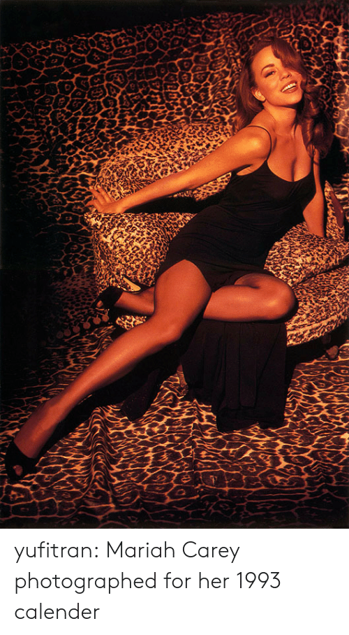 mariah carey: yufitran: Mariah Carey photographed for her 1993 calender