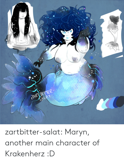 Tumblr, Blog, and Another: ZART BITTER  SALAT zartbitter-salat:  Maryn, another main character of Krakenherz :D